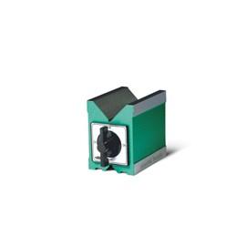 BLOCO EM V MAGNETICO COM FORCA DE 64KGF E DIMENSOES 80 X 70 X 95MM - 6801-1201 INSIZE