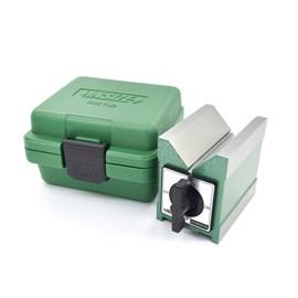 BLOCO EM V MAGNETICO COM FORCA DE 80KGF E DIMENSOES 100 X 70 X 95MM - 6801-1202 INSIZE