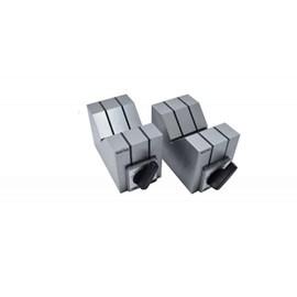 BLOCO EM V MAGNETICO EM PAR 70 X 40 X 50MM COM FORCA DE 15KGF CAPACIDADE DE 6 A 46MM - 6891-1 INSIZE