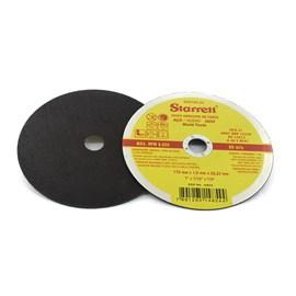 DISCO ABRASIVO DE CORTE 178 X 1,6 X 22,23MM PARA 8.500RPM - DAC180-24 STARRETT