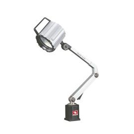 LUMINARIA BLINDADA COM LAMPADA HALOGENA COM HASTE DE 250 X 200MM 220V - VHL-300M VERTEX