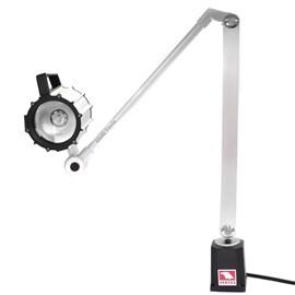 LUMINARIA BLINDADA COM LAMPADA HALOGENA COM HASTE DE 400 X 400MM 220V - VHL-400L VERTEX