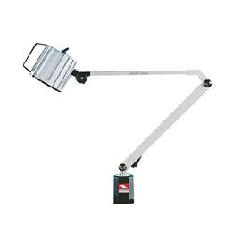 LUMINARIA BLINDADA COM LAMPADA HALOGENA COM HASTE DE 430 X 400MM 220V - VHL-300L VERTEX