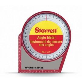 MEDIDOR DE ANGULO COM BASE MAGNETICA DE 0 A 90 GRAUS - AM-2 STARRET