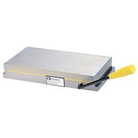 MESA MAGNETICA PERMANENTE 150 X 150 X 50MM COM PASSO POLAR FINO 1 + 4MM 800 GAUSS - VGF-1515B VERTEX