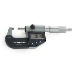MICROMETRO DIGITAL 3 TECLAS 025 A 050 X 0,001MM MILESIMAL PROTECAO IP54 - 110.273 DIGIMESS