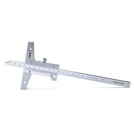 PAQUIMETRO DE PROFUNDIDADE BASE DE 100MM 0 A 300 X 0,05MM - 1247-300 INSIZE