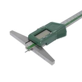 PAQUIMETRO DIGITAL DE PROFUNDIDADE COM HASTE REDONDA HIGH SPEED 0 A 200 X 0,01MM - 1143-200A INSIZE