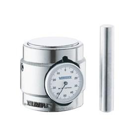 PRESSETER COM RELOGIO EMBUTIDO COM BASE MAGNETICA CURSO 50MM LEITURA 0,01MM - HP-50AM VERTEX